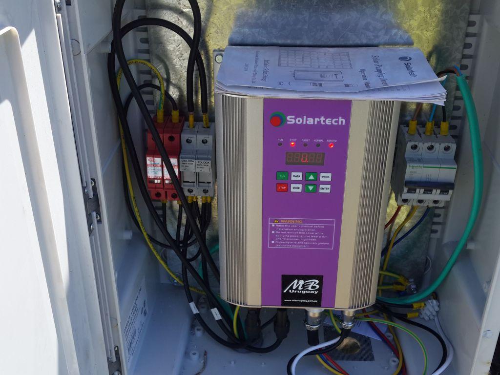 Instalación de Bomba Solar de 1.5 HP Melo