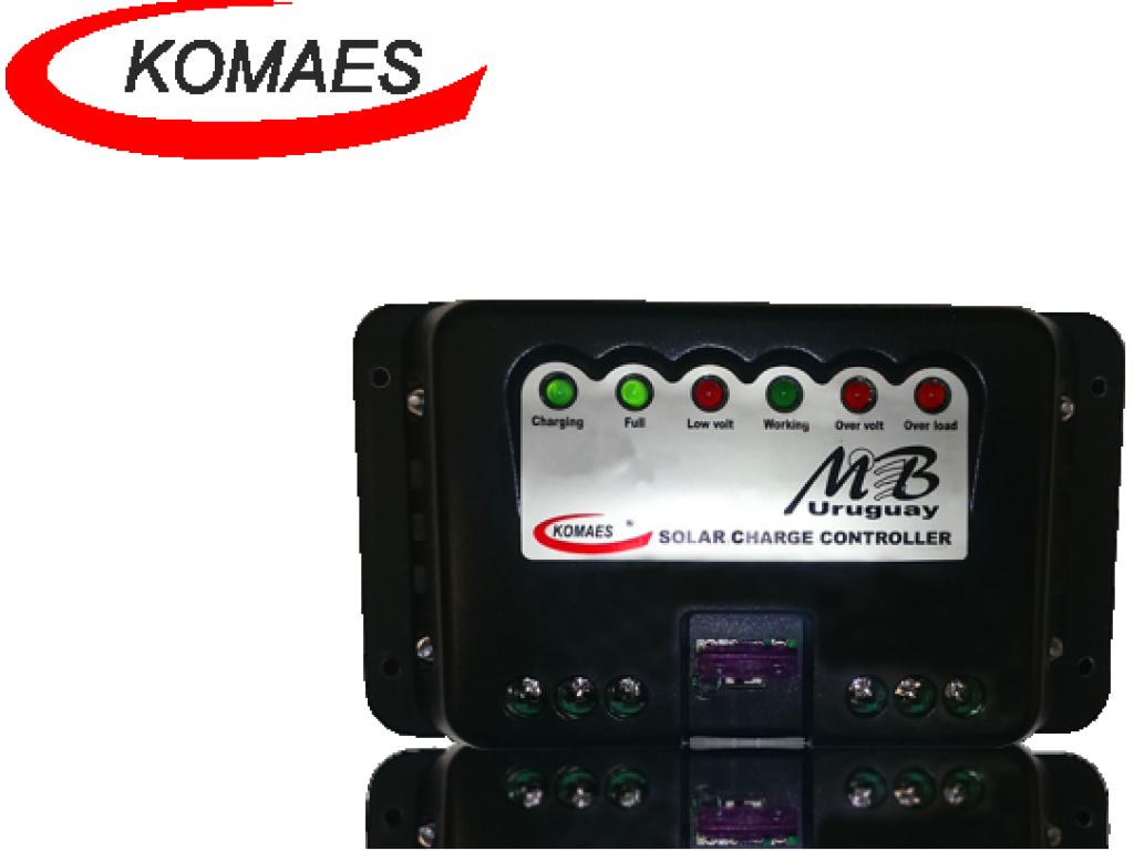 Controlador de Carga Komaes 7 Amp
