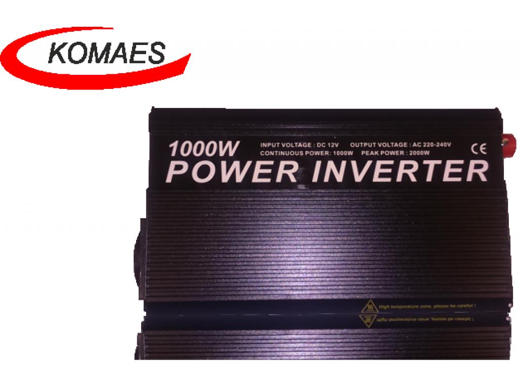 Inversor 1000 W Komaes
