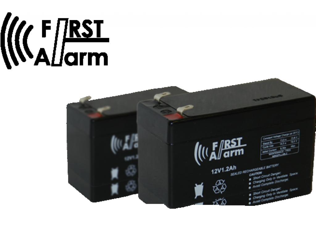 Batería 1.2 Amp FIRST ALARM