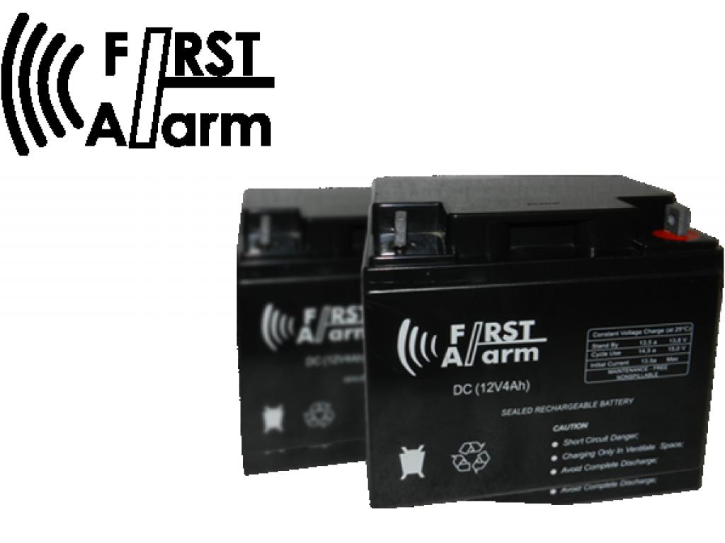 Batería 4 Amp FIRST ALARM