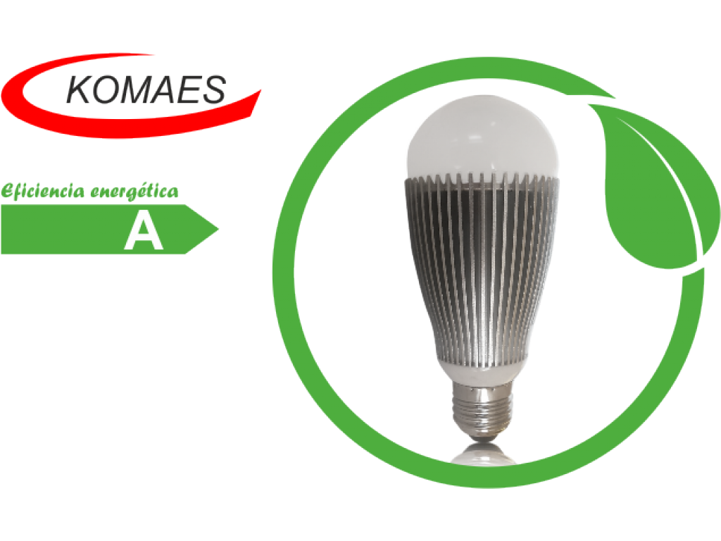 Lámpara LED 9 W Komaes