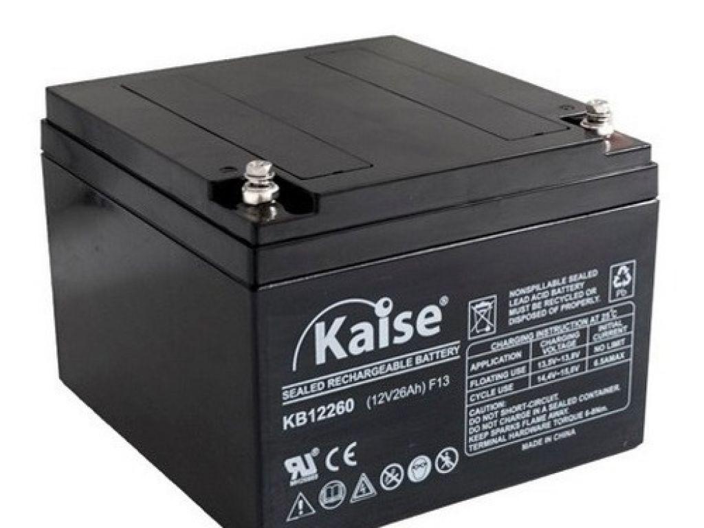 Batería 26 Amp Kaise