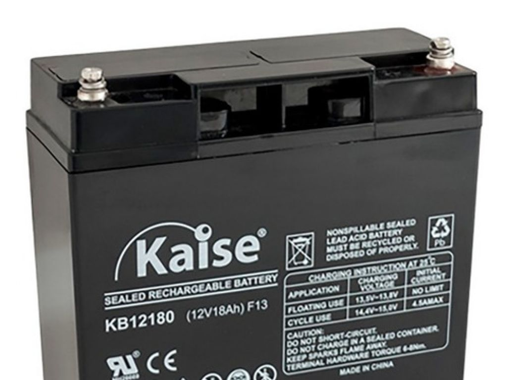 Batería 18 Amp Kaise