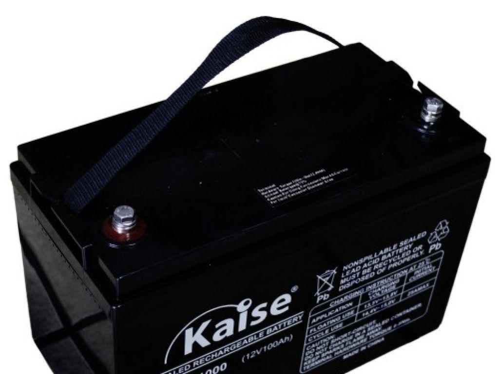 Batería 100 Amp Kaise